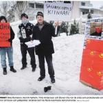 Mielenilmaus Liu Xiaobon puolesta